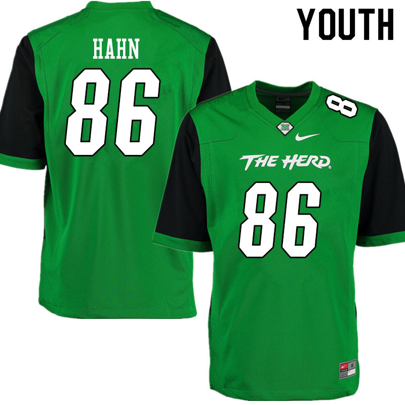 Youth #86 Ethan Hahn Marshall Thundering Herd College Football Jerseys Sale-Gren
